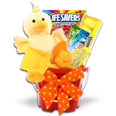 Alder Creek Ducky Easter Pail Gift Set