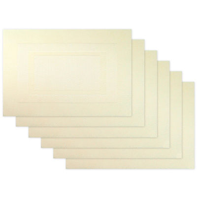 Design Imports Doubleframe Set of 6 Placemats