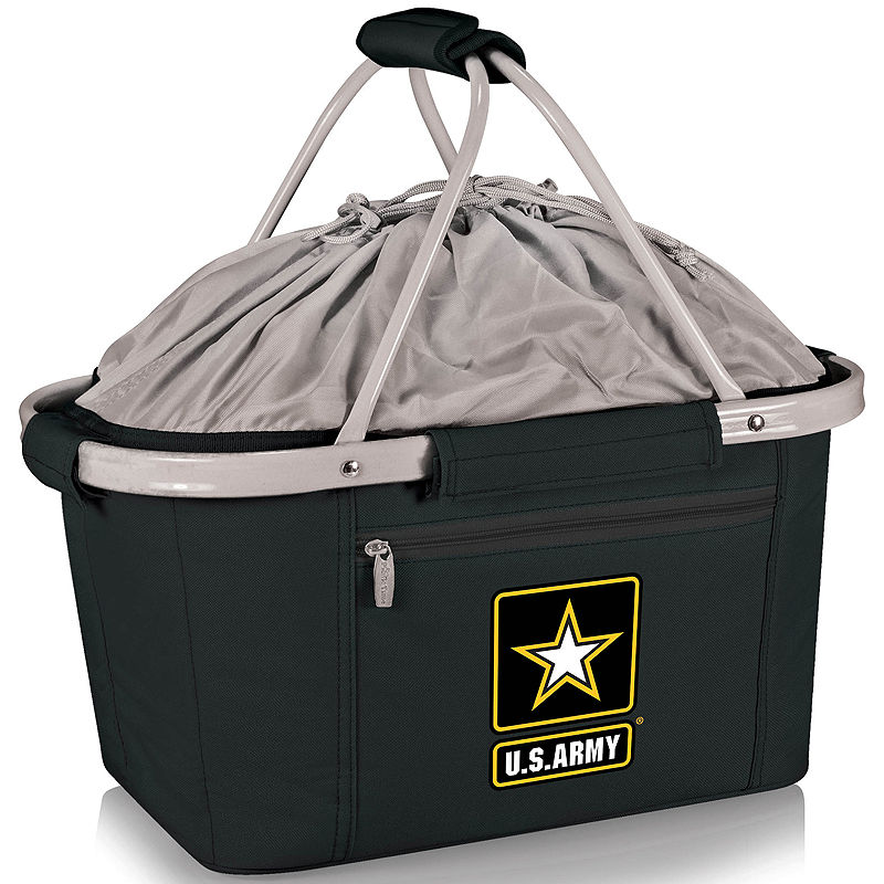 Picnic Time U.S. Army Metro Basket Collapsible Tote