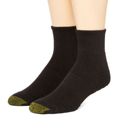 Gold Toe Novelty 2 Pair Quarter Socks-Mens