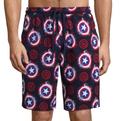 Marvel Jersey Pajama Shorts