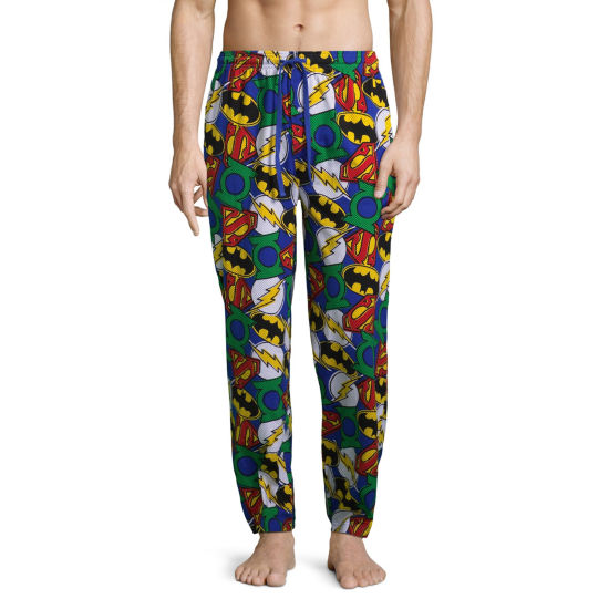Justice League Jersey Pajama Pants