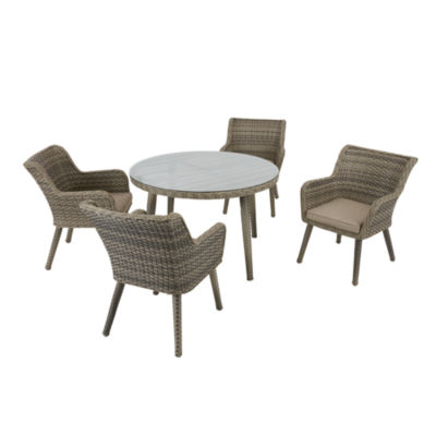 Madison Park Dana Outdoor Arm Chair(Set Of 2)