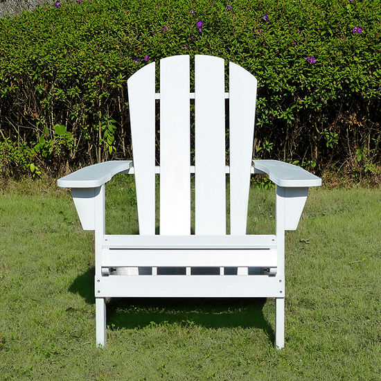 Northbeam Faux Wood Relaxed Adirondack Chair