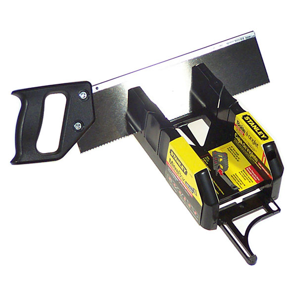Stanley Hand Tools 19-800 Saw Storage Mitre Box With Saw