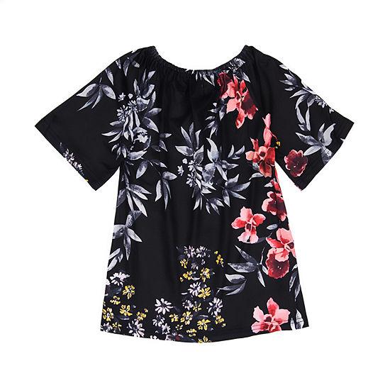 Mayah Kay Fashion Floral Tunic