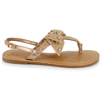 Dolce By Mojo Moxy Sammi Womens Flat Sandals