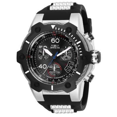 Invicta Bolt Mens Black Strap Watch-25870