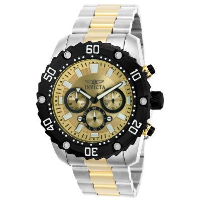 Invicta Pro Diver Mens Two Tone Bracelet Watch-22519