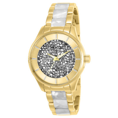 Invicta Angel Womens Two Tone Bracelet Watch-25245