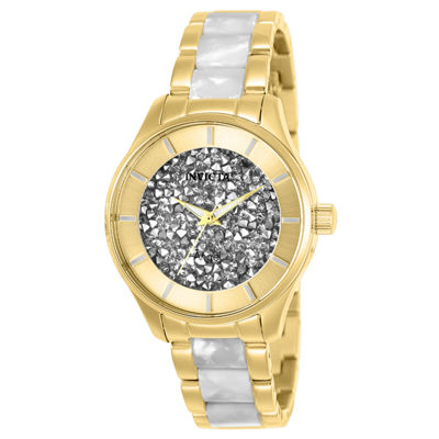 Invicta Angel Womens Two Tone Bracelet Watch-25245