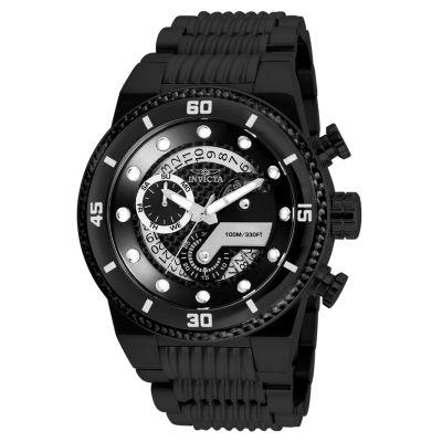 Invicta S1 Rally Mens Black Strap Watch-25284