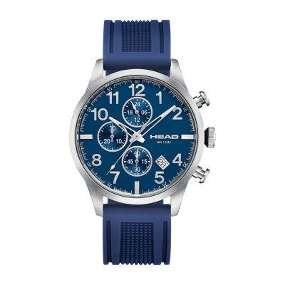 Head Unisex Blue Strap Watch-He-007-03