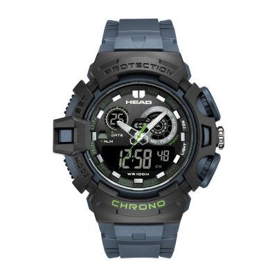 Head Unisex Blue Strap Watch-He-110-02