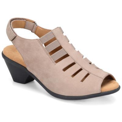 Comfortiva Womens Faye Heeled Sandals