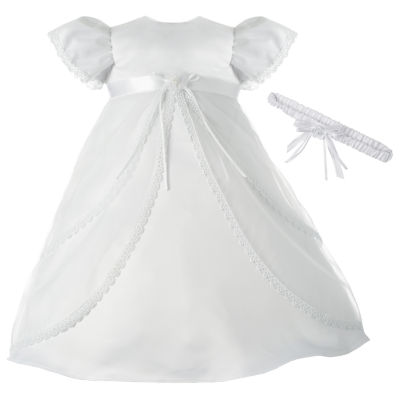 Keepsake Short Sleeve Dress Set - Baby Girls