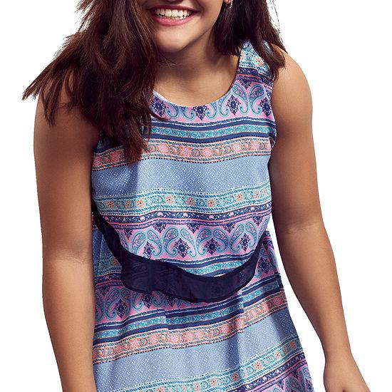Obsess - Big Kid Girls Sleeveless Sundress