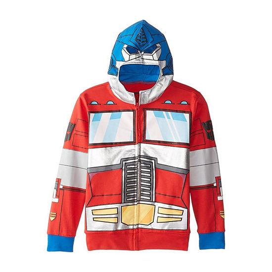 Boys 4-20 Costume Hoodies Boys Transformers Hoodie-Big Kid