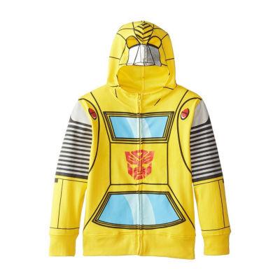 Boys 4-20 Costume Hoodies Transformers Hoodie-Preschool Boys