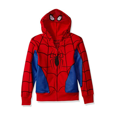 Boys 4-20 Costume Hoodies Spiderman Hoodie-Preschool Boys