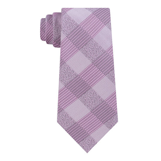 Van Heusen Flex 3 Stretch Plaid Tie