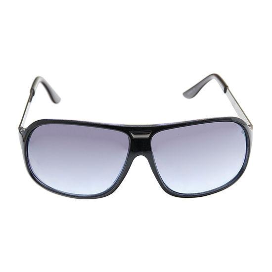 St. John's Bay Mens Full Frame Rectangular Sunglasses
