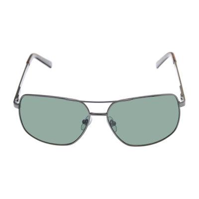 St. John's Bay Full Frame Rectangular UV Protection Sunglasses-Mens