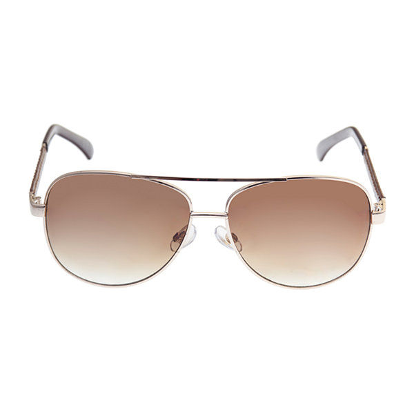 St. John's Bay Full Frame Aviator UV Protection Sunglasses-Mens