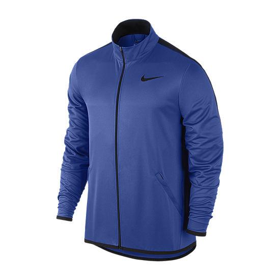 Nike Big and Tall Mens Mock Neck Long Sleeve Sweatshirt