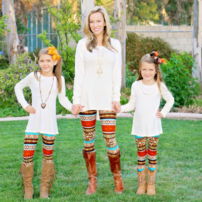 Mayah Kay Fashion Fair Isle Leggings