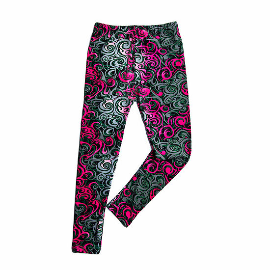 Mayah Kay Fashion Girls Swirl Leggings
