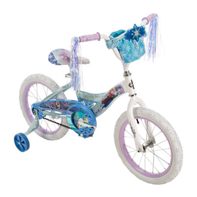 "Huffy Disney Frozen 16"" Bike with Handlebar Bag"