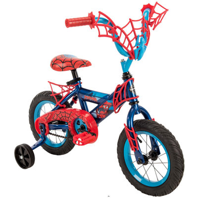 "Huffy Marvel Spider-Man 12"" Bike with WebTrap Handlebar Plaque"