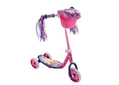 Huffy Disney Princess 3-Wheel Scooter with Handlebar Bag