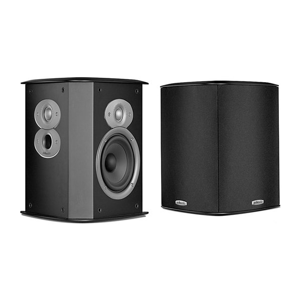 Polk Audio FXI A4 Timbre-Matched Bipole/Dipole Surround Loudspeakers - Pair - Black