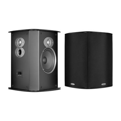 Polk Audio FXI A6 Timbre-Matched Bipole/Dipole Surround Loudspeakers - Pair - Black
