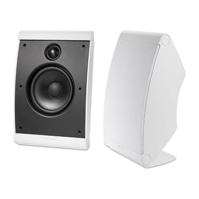 Polk Audio OWM3 Compact Multi-Application Speakers - Pair - White