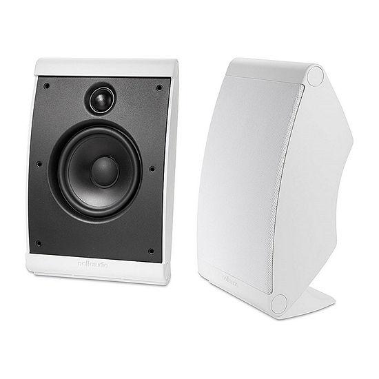 Polk Audio OWM3 Compact Multi-Application Speakers - Pair - White