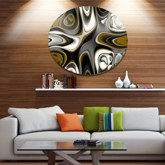 Design Art Fantastic Fractal Abstract Pattern Large Abstract Metal Artwork