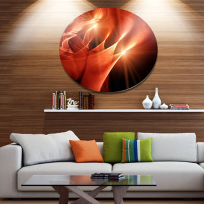 Design Art Abstract Warm Brown Fractal Design Contemporary Abstract Wall Art
