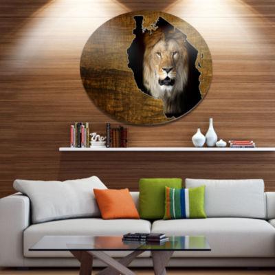 Design Art Tanzania Wildlife Map Design Abstract Metal Artwork