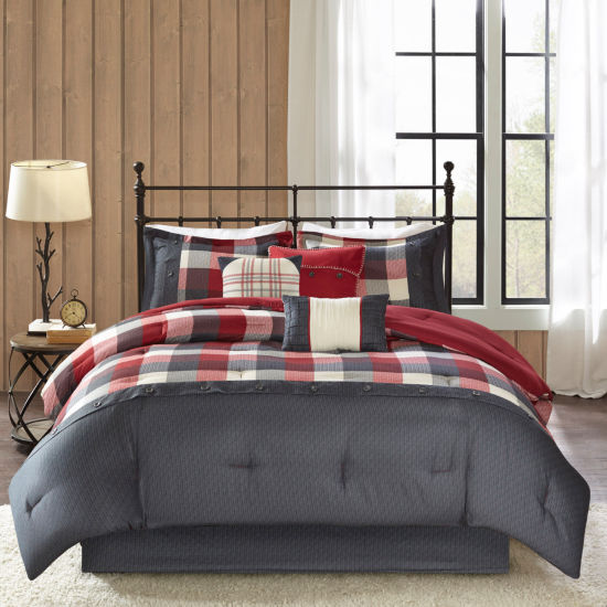 Madison Park Pioneer 7-PC. Herringbone Comforter Set