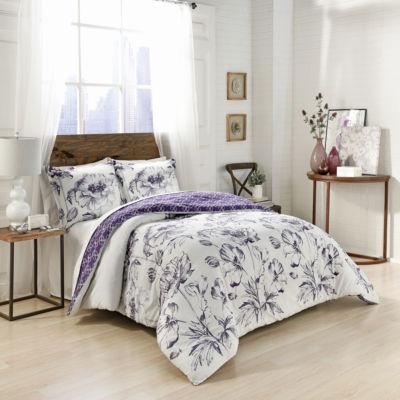 Marble Hill Jasmeen 3-pc. Comforter Set