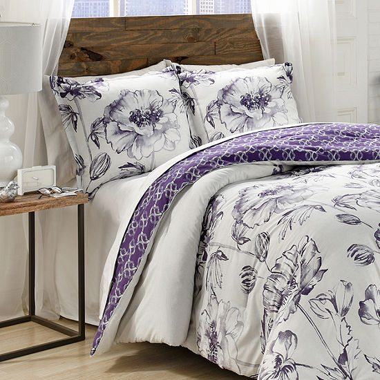 Marble Hill Jasmeen 3-pc. Comforter Set