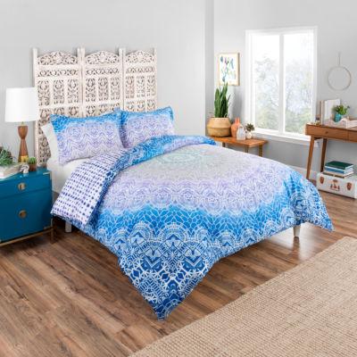 Boho Boutique Sundial 3-pc. Reversible Comforter Set