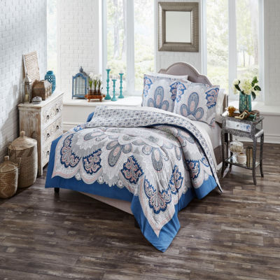 Boho Boutique Serene 3-pc. Reversible Comforter Set