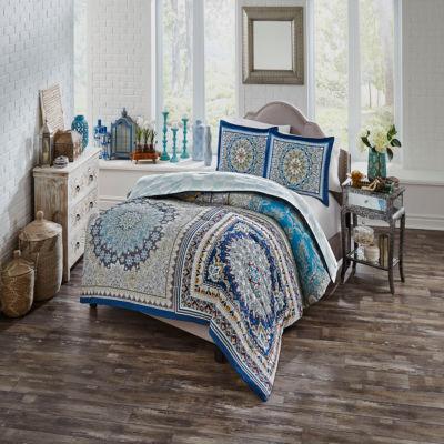 Boho Boutique Surya 3-pc. Reversible Comforter Set