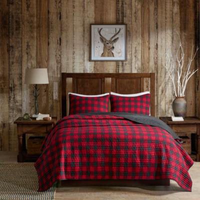 Woolrich Check Cotton 3-pc. Quilt Set