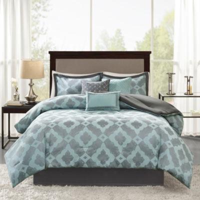 Madison Park Axel Jacquard 7-pc. Comforter Set