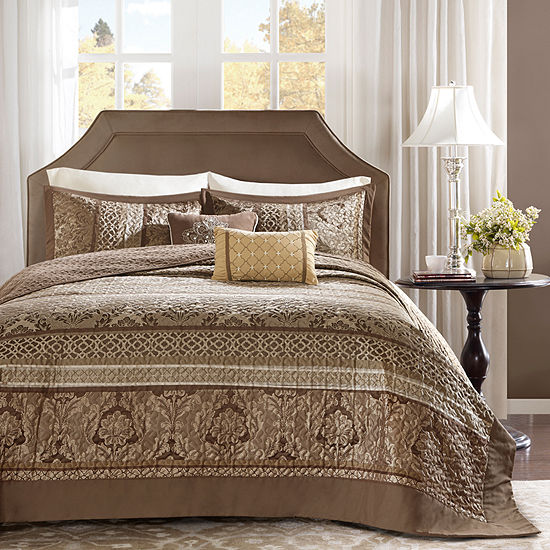 Madison Park Venetian Jacquard 5-pc. Bedspread Set